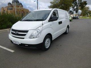 2011 Hyundai iLOAD TQ-V White Manual Van.