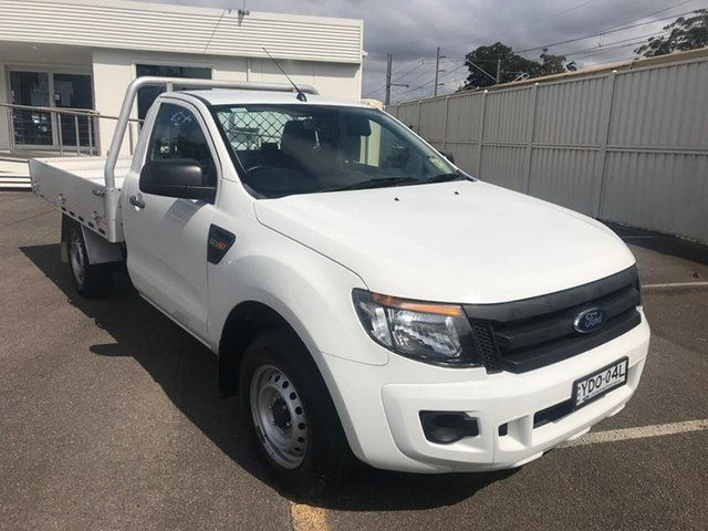 Used Ford Ranger PX MkII XL North Gosford, 2015 Ford Ranger PX MkII XL White 6 Speed Manual Cab Chassis