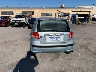 2004 Hyundai Getz TB XL Blue 5 Speed Manual Hatchback.