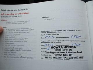 2010 Honda Accord 8th Gen MY10 V6 Luxury White 5 Speed Sports Automatic Sedan