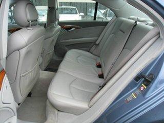 2003 Mercedes-Benz E240 211 Elegance Blue 5 Speed Auto Touchshift Sedan