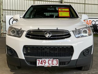 2013 Holden Captiva CG Series II MY12 7 SX White 6 Speed Sports Automatic Wagon