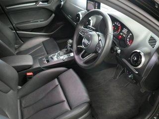2017 Audi A3 8V MY18 S Tronic Black 7 Speed Sports Automatic Dual Clutch Sedan