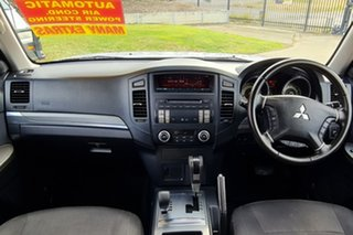 2012 Mitsubishi Pajero NW MY12 GLS Silver 5 Speed Sports Automatic Wagon