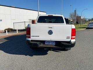 2013 Volkswagen Amarok 2H MY12.5 TDI400 (4x4) White 6 Speed Manual Dual Cab Utility