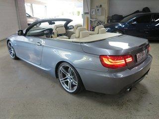 2010 BMW 3 Series E93 MY11 335i D-CT M Sport Space Grey 7 Speed Sports Automatic Dual Clutch