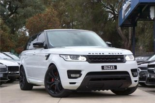 2014 Land Rover Range Rover Sport L494 15.5MY HSE Dynamic White 8 Speed Sports Automatic Wagon.