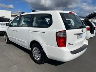 2013 Kia Grand Carnival VQ MY14 S White 6 Speed Sports Automatic Wagon