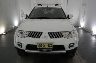 2012 Mitsubishi Challenger PB (KG) MY12 White 5 Speed Sports Automatic Wagon.