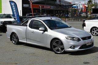 2010 Ford Falcon FG Upgrade XR6T Silver 6 Speed Auto Seq Sportshift Utility.