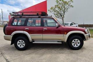 2000 Nissan Patrol GU II TI Red 4 Speed Automatic Wagon.