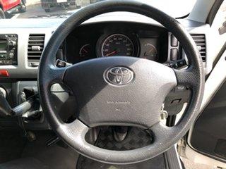2009 Toyota HiAce TRH201R MY07 Upgrade LWB French Vanilla 5 Speed Manual Van