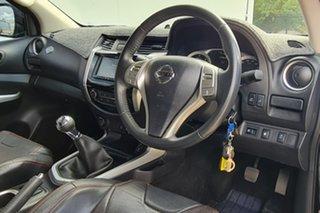 2015 Nissan Navara D23 ST-X Black 6 Speed Manual Utility.