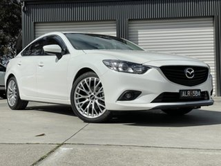 2013 Mazda 6 GJ1031 Sport SKYACTIV-Drive 25d 6 Speed Sports Automatic Sedan.