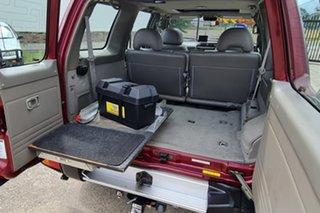 2000 Nissan Patrol GU II TI Red 4 Speed Automatic Wagon