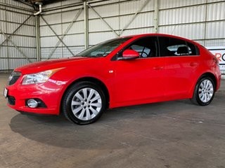 2012 Holden Cruze JH Series II MY12 CDX Red 5 Speed Manual Hatchback.