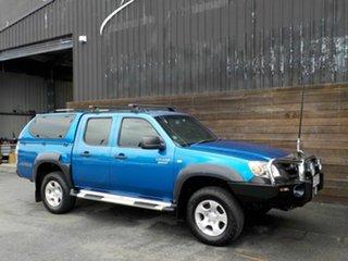 2010 Mazda BT-50 UNY0E4 DX Blue 5 Speed Manual Utility.