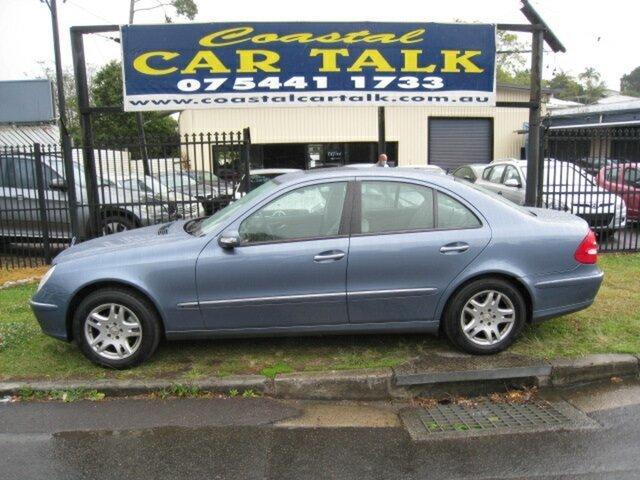 Used Mercedes-Benz E240 211 Elegance Nambour, 2003 Mercedes-Benz E240 211 Elegance Blue 5 Speed Auto Touchshift Sedan