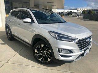 2018 Hyundai Tucson TL3 MY19 Highlander D-CT AWD Platinum Silver 7 Speed.