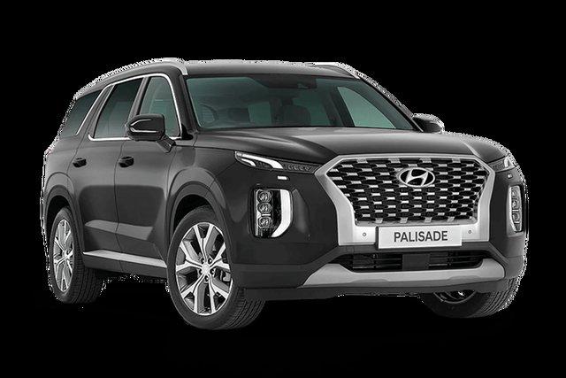 New Hyundai Palisade Highlander Rutherford, 2021 Hyundai Palisade LX2.V1 Highlander Steel Graphite 8 Speed Automatic
