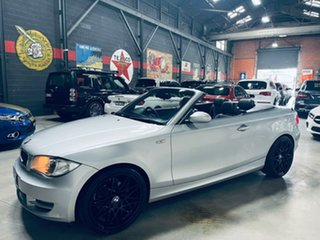 2009 BMW 120i E88 MY10 120i Silver 6 Speed Automatic Convertible