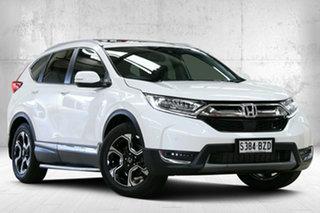 2018 Honda CR-V RW MY19 VTi-LX 4WD Platinum White 1 Speed Constant Variable Wagon.