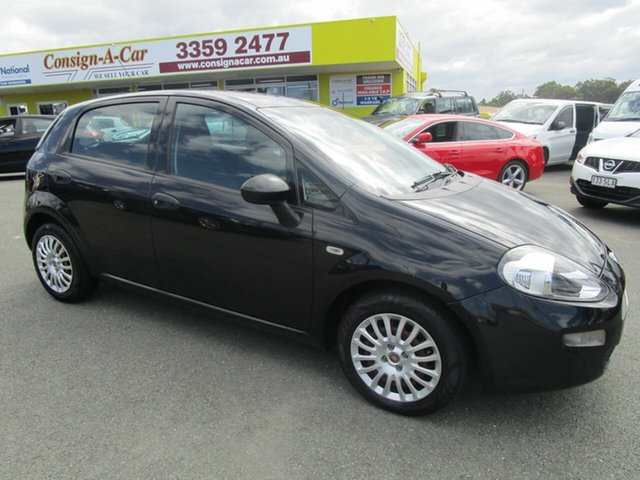 Used Fiat Punto MY13 Pop Dualogic Kedron, 2015 Fiat Punto MY13 Pop Dualogic Black 5 Speed Sports Automatic Single Clutch Hatchback