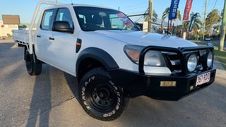 2010 Ford Ranger PK XL (4x4) White 5 Speed Manual Dual Cab Pick-up.