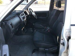 2005 Mitsubishi Triton MK MY05.5 GLX-R Double Cab White 5 Speed Manual Utility