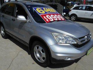 2010 Honda CR-V RE MY2010 4WD Silver 6 Speed Manual Wagon.