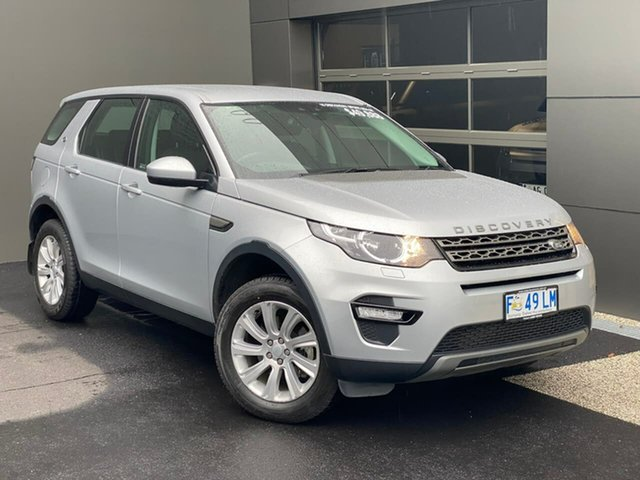 Used Land Rover Discovery Sport L550 16.5MY SE Hobart, 2016 Land Rover Discovery Sport L550 16.5MY SE Silver 9 Speed Sports Automatic Wagon