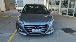 2016 Hyundai i30 GD4 Series II MY17 Active X Grey 6 Speed Sports Automatic Hatchback.