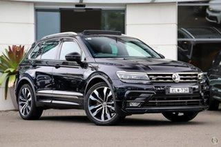 2019 Volkswagen Tiguan 5N MY20 162TSI DSG 4MOTION Highline Black 7 Speed.