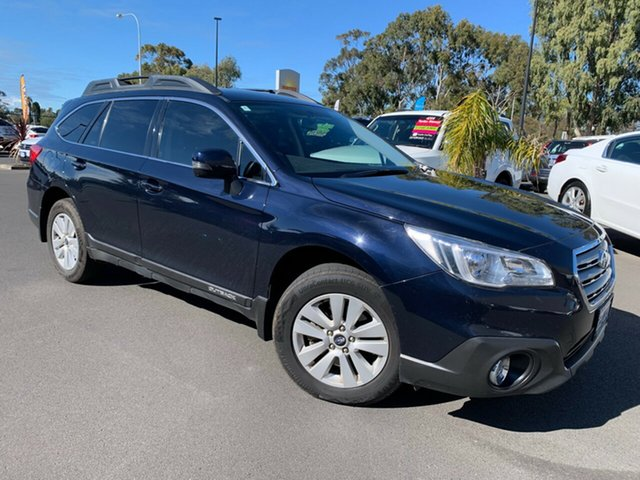Used Subaru Outback B6A MY15 2.0D CVT AWD Bunbury, 2015 Subaru Outback B6A MY15 2.0D CVT AWD Blue 7 Speed Constant Variable Wagon