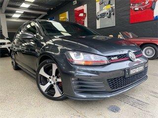 2016 Volkswagen Golf VII GTi Grey Sports Automatic Dual Clutch Hatchback.