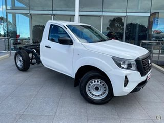 2021 Nissan Navara D23 MY21 SL Solid White 7 Speed Sports Automatic Cab Chassis