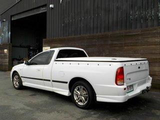 2006 Ford Falcon BF Mk II XL Ute Super Cab White 4 Speed Sports Automatic Utility
