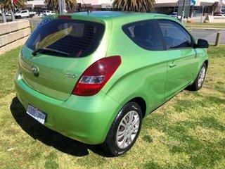2010 Hyundai i20 PB Active Green 4 Speed Automatic Hatchback.