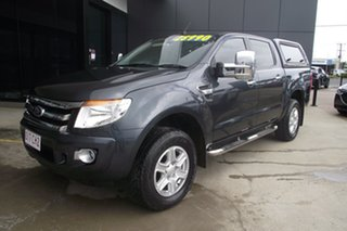 2013 Ford Ranger PX XLT Double Cab 4x2 Hi-Rider Blue 6 Speed Sports Automatic Utility