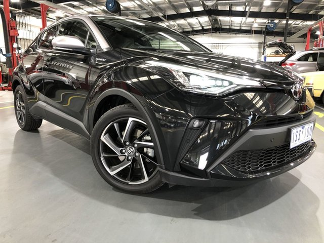 Pre-Owned Toyota C-HR NGX10R Koba S-CVT 2WD Oakleigh, 2019 Toyota C-HR NGX10R Koba S-CVT 2WD Ink & Shadow Platinum 7 Speed Constant Variable Wagon