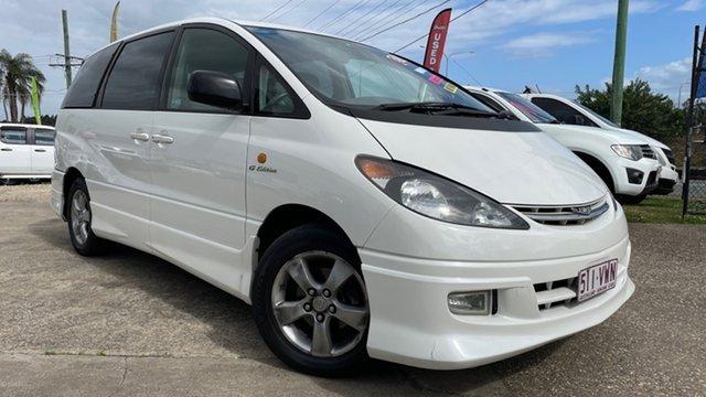 Used Toyota Estima Loganholme, 2002 Toyota Estima White 4 Speed Automatic Wagon