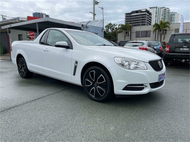 Used Holden Ute VF Southport, 2013 Holden Ute VF White 6 Speed Automatic Utility