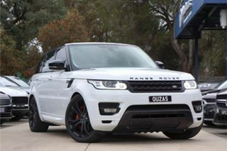 2014 Land Rover Range Rover Sport L494 15.5MY HSE Dynamic White 8 Speed Sports Automatic Wagon