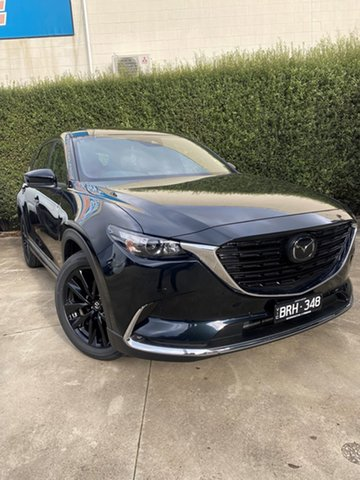 Demo Mazda CX-9 TC GT SP SKYACTIV-Drive i-ACTIV AWD Mornington, 2021 Mazda CX-9 TC GT SP SKYACTIV-Drive i-ACTIV AWD Jet Black 6 Speed Sports Automatic Wagon