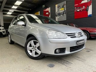 2008 Volkswagen Golf V Pacific Silver Sports Automatic Hatchback.