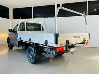 2017 Toyota Hilux TGN121R Workmate 4x2 Grey 6 Speed Sports Automatic Cab Chassis.