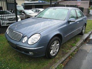 2003 Mercedes-Benz E240 211 Elegance Blue 5 Speed Auto Touchshift Sedan.