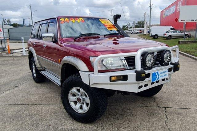 Used Nissan Patrol GU TI Morayfield, 1998 Nissan Patrol GU TI Red 4 Speed Automatic Wagon