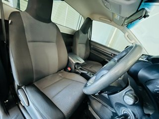 2017 Toyota Hilux TGN121R Workmate 4x2 Grey 6 Speed Sports Automatic Cab Chassis