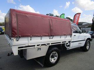 2000 Nissan Patrol GU DX White 5 Speed Manual Cab Chassis